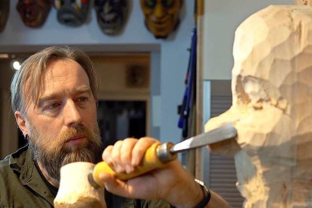 Maskenschnitzer hat schon mehr als 40 neue Fasnachtsfiguren erschaffen