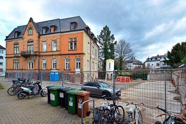 Dreistöckiger Neubau löst Sorgen in der Freiburger Kronenstraße aus