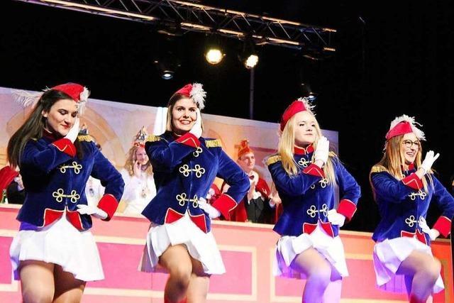 Die Malteserfunken Heitersheim weisen Einflüsse des rheinischen Karnevals auf