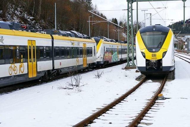 Ab Sonntag fahren wieder Züge der Breisgau-S-Bahn im Höllental