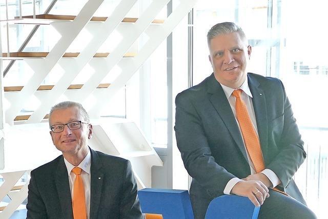 Bei der Volksbank Rhein-Wehra stiegen 2019 das Kredit- und das Einlagengeschäft stark an