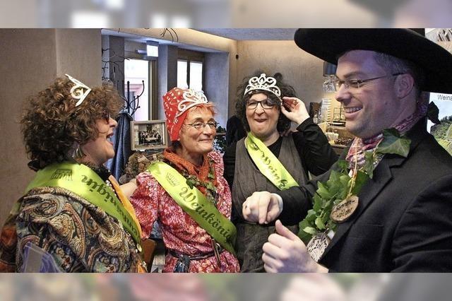 Laufenburg hat drei Weinköniginnen