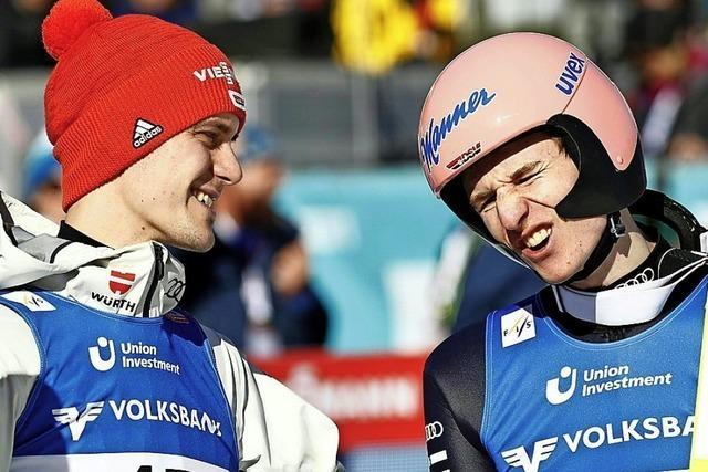 Erster Doppelsieg der Skispringer seit 2017