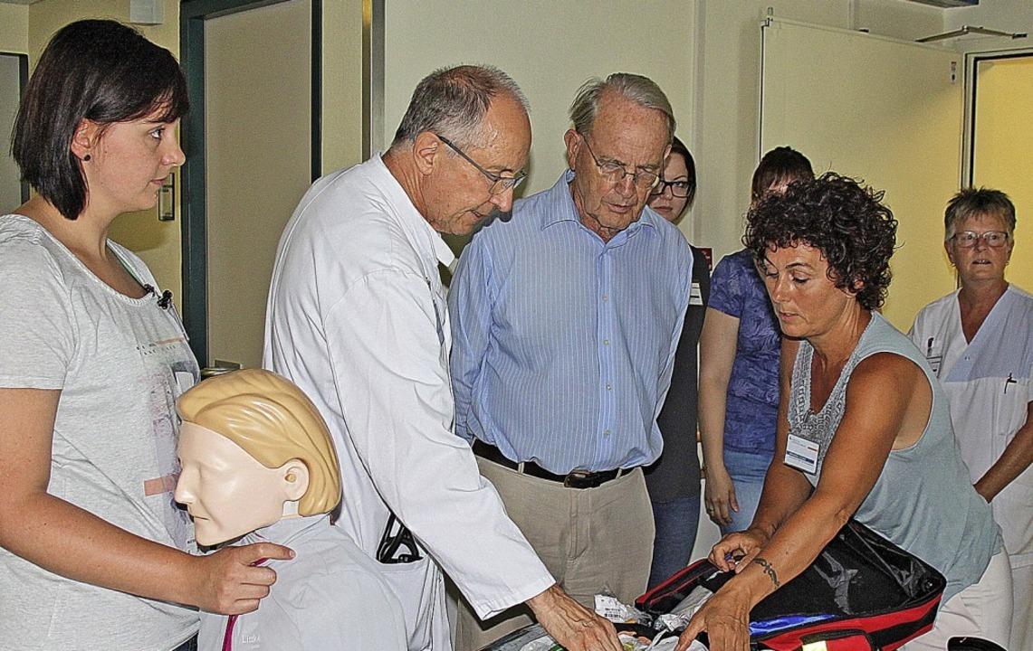 Der Förderverein fürs Krankenhaus enga...t finanziellen Mitteln und mit Ideen.   | Foto: Veranstalter