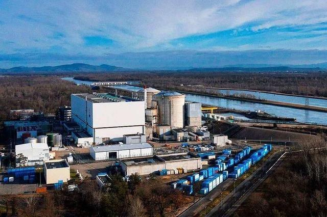 Erster Reaktor des Atomkraftwerks Fessenheim abgeschaltet