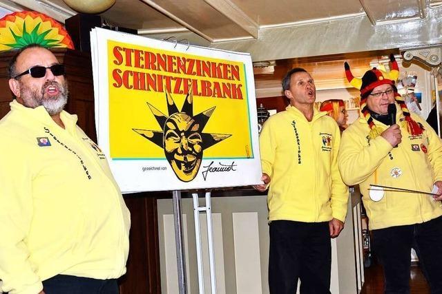 Wie der Sternenzinken in Schopfheim die Tradition des Schnitzelbanksingens pflegt