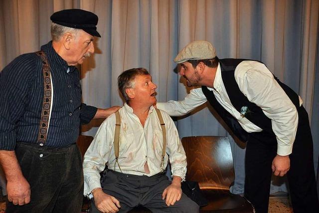 Siegfried Wacker spielt beim Jubiläumstheater in Sulz die Hauptrolle