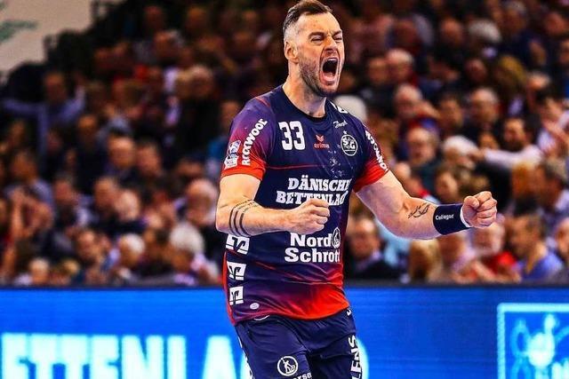 Für den Teninger Handballer Jens Schöngarth hat sich ein Kindheitstraum erfüllt