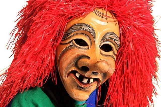 Die Neuenburger Brunnebutzer fallen mit ihren roten Haaren sofort auf
