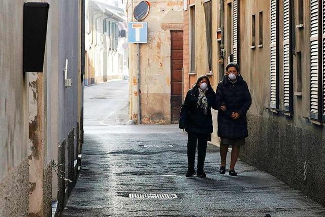 Italien riegelt wegen Coronavirus Städte ab