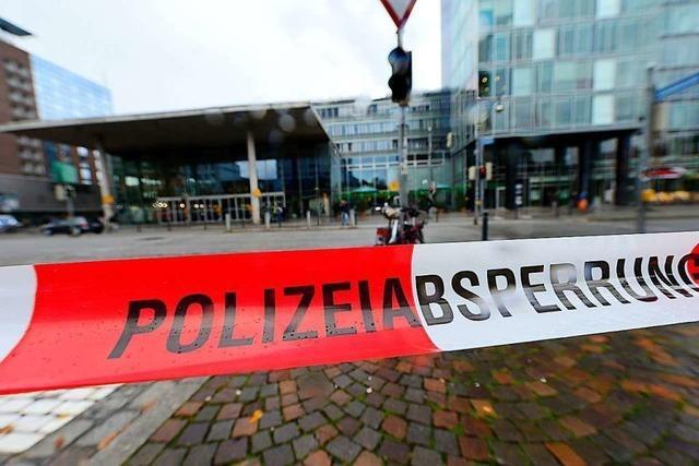 Sperrung im Freiburger Hauptbahnhof wegen herrenlosem Koffer