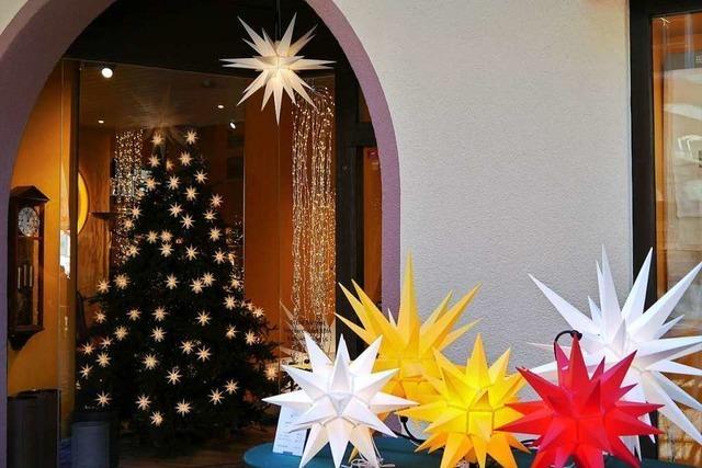 Weihnachtsstimmung in der Freiburger Konviktstraße