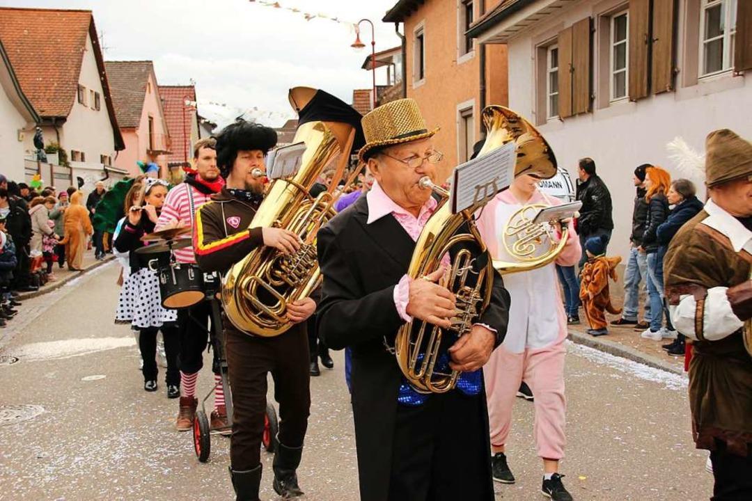 Der Musikverein Gottenheim darf nicht fehlen.  | Foto: Mario Schöneberg