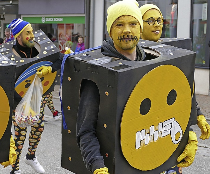 Smileys und Emojis wurden eigens für die Fasnet neu kreiert.  | Foto: Juliane Kühnemund