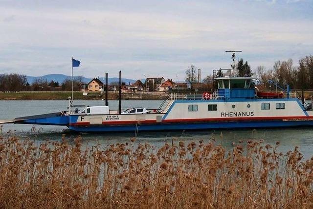 Die Kappler Rhenanus-Fähre fährt am Montag ins Trockendock