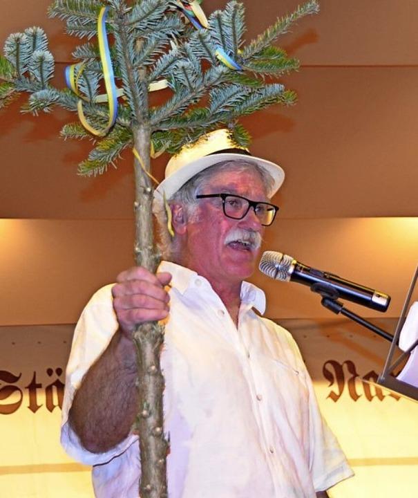 Die Grugge von jährlichem Christbaum reklamierten die Eberschopfener  Allstars.  | Foto: Barbara Röderer