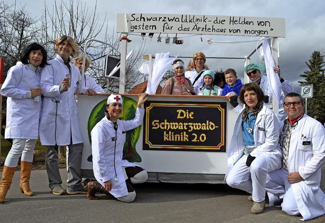 Schwarzwaldklinik von einst – Idee für Rötenbachs Zukunft  | Foto: Liane Schilling