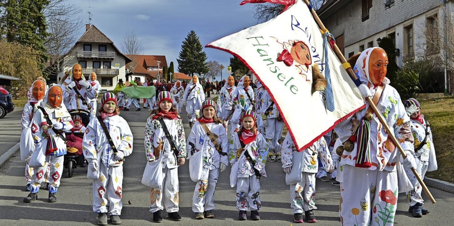 Die Hansele aus Rötenbach waren beim U... mit dabei, wie Familie Langenbacher.   | Foto: Liane Schilling