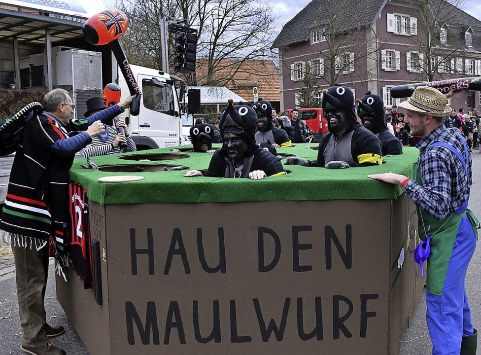 Ein besonderes Spiel wurde in Ichenheim vorgeführt.  | Foto: Wolfgang Künstle