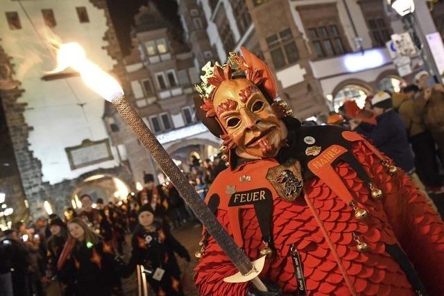 """""""Nacht der Narren"""" in Freiburg lockt 12.000 Besucher an"""