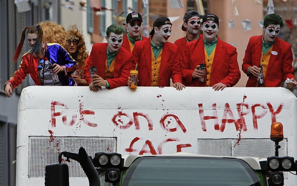 "Der Kinohit ""Joker"" inspir...tigen Trollinger"" aus Merdingen.    Foto: Patrik Müller"