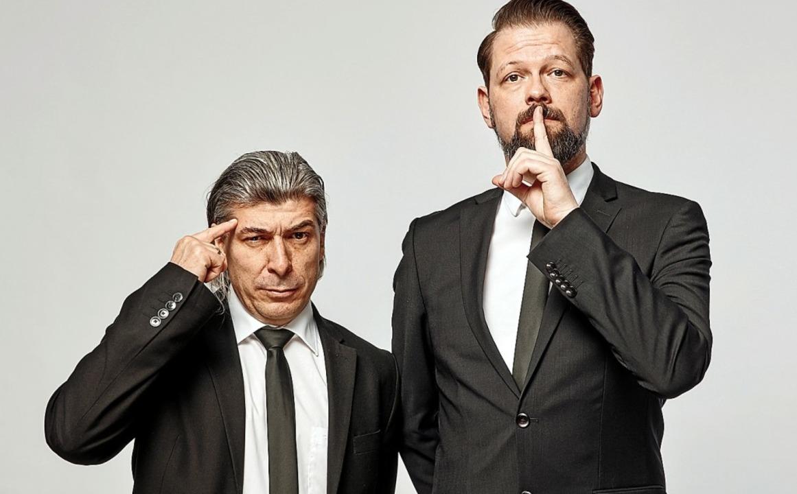 Markus Riedinger (l.) und Adrian Engels sind Onkel Fisch.    Foto: Onkel Fisch