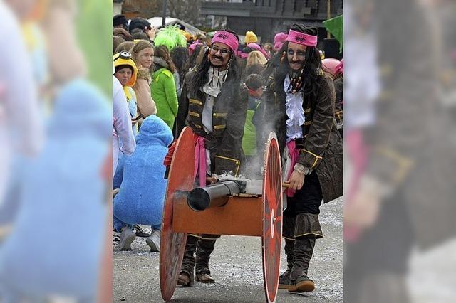 Wilde Piraten und putzige Igel
