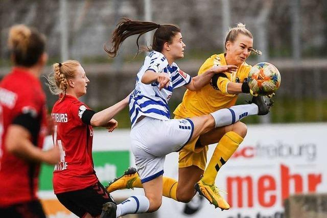Die Spielerinnen des SC Freiburg bringen sich um den eigenen Lohn