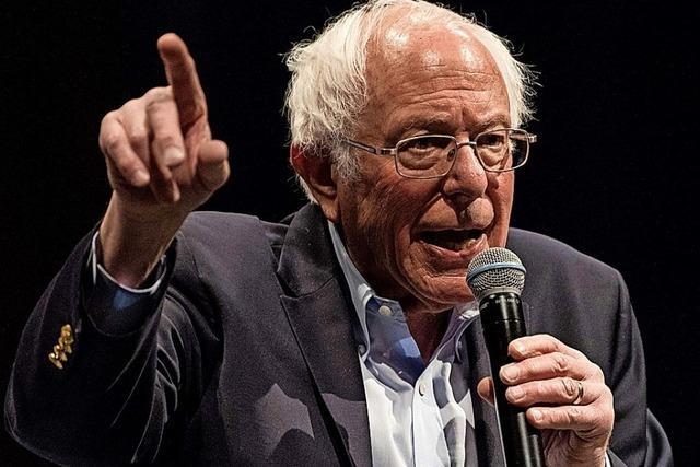 Sanders liegt auch in Nevada vorn
