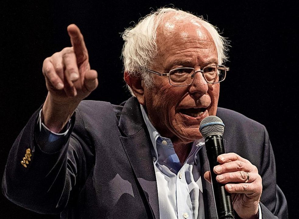 Bernie Sanders  | Foto: Cengiz Yar (AFP)