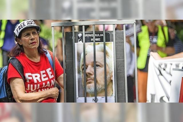 Assange droht die Auslieferung