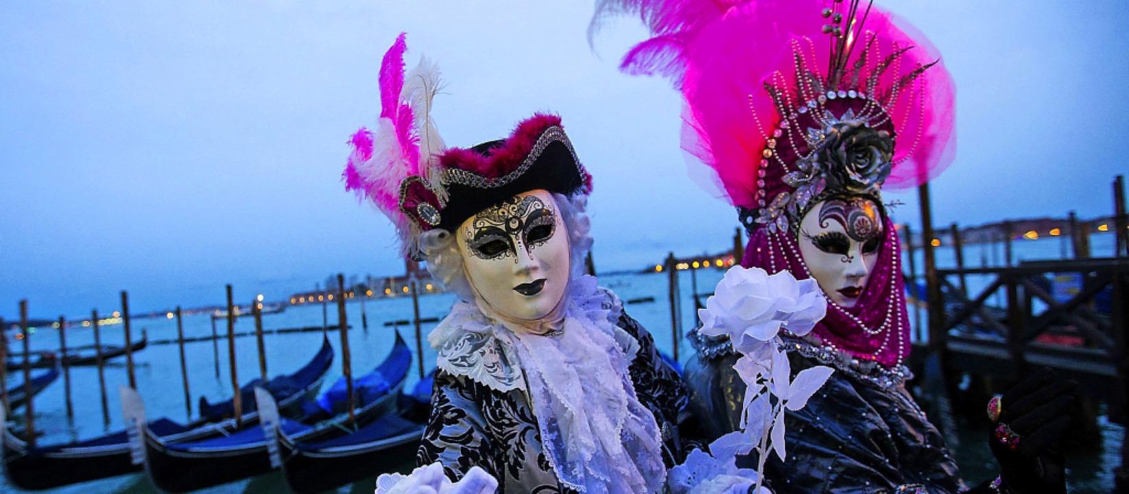 Auch der weltberühmte Karneval in Vene...sbreitung des Coronavirus abgebrochen.    Foto: Jin Yu (dpa)