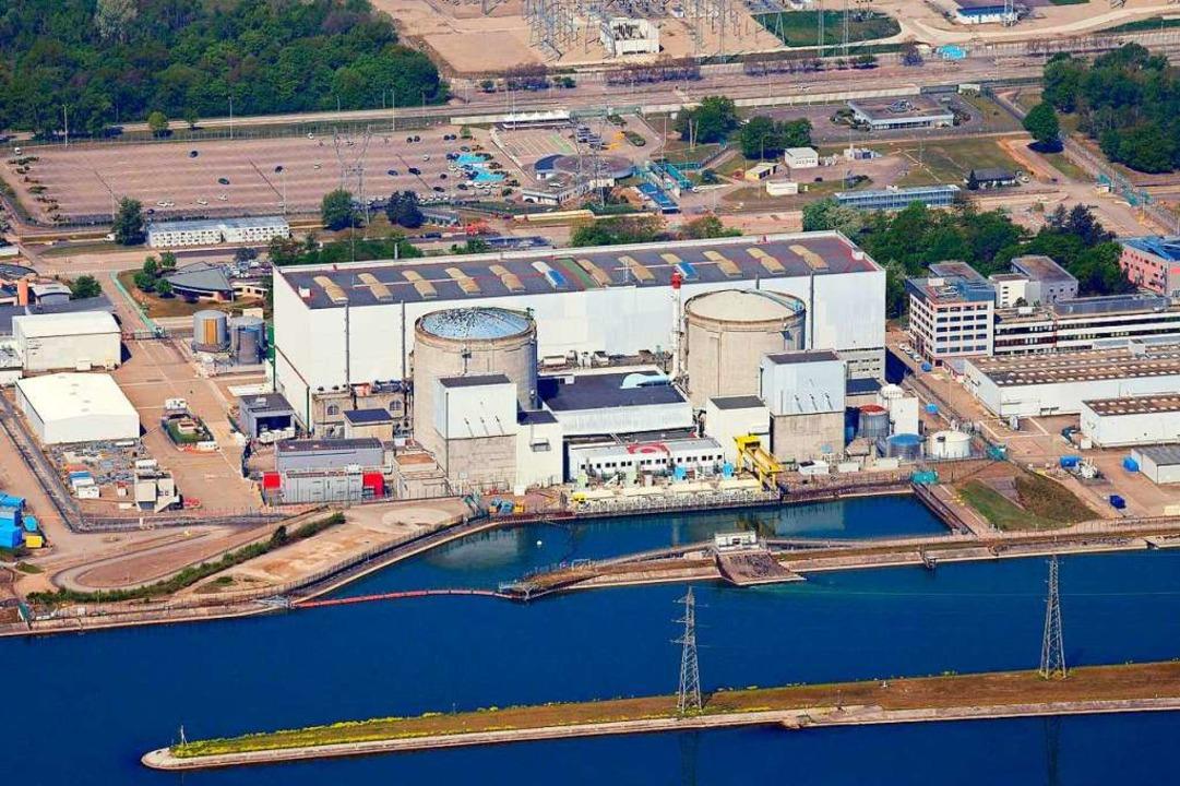 Reaktor 1 des Atomkraftwerks Fessenhei...cht auf Fasnachtssamstag abgeschaltet.  | Foto: Erich Meyer