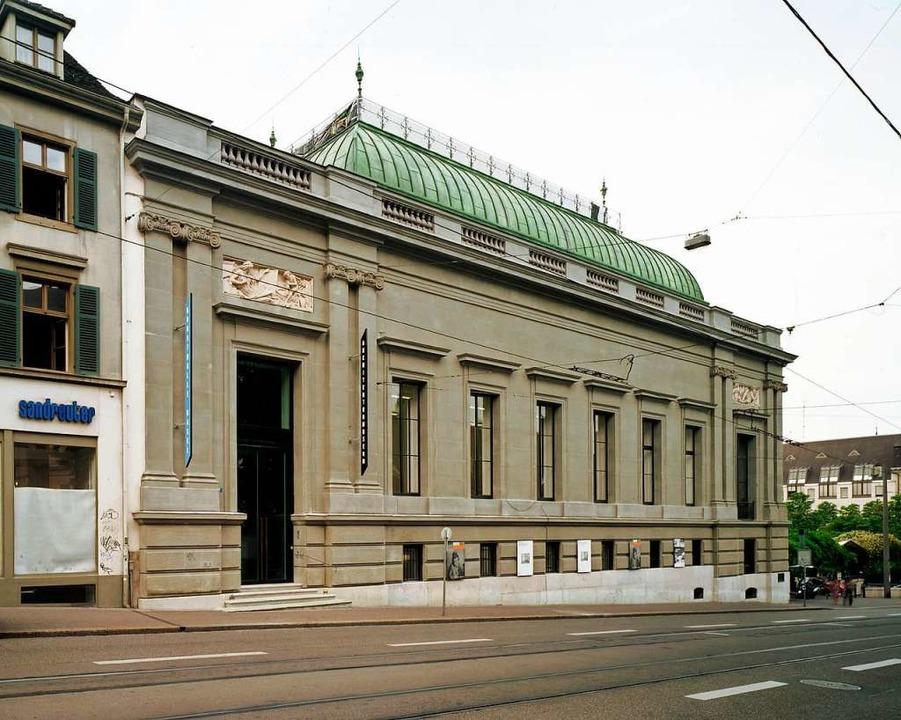 Die Basler Kunsthalle    Foto: Serge Hasenböhler/Basler Kunstverein