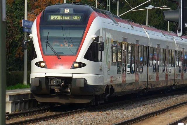 Züge auf der Wiesentalbahn fahren wieder planmäßig