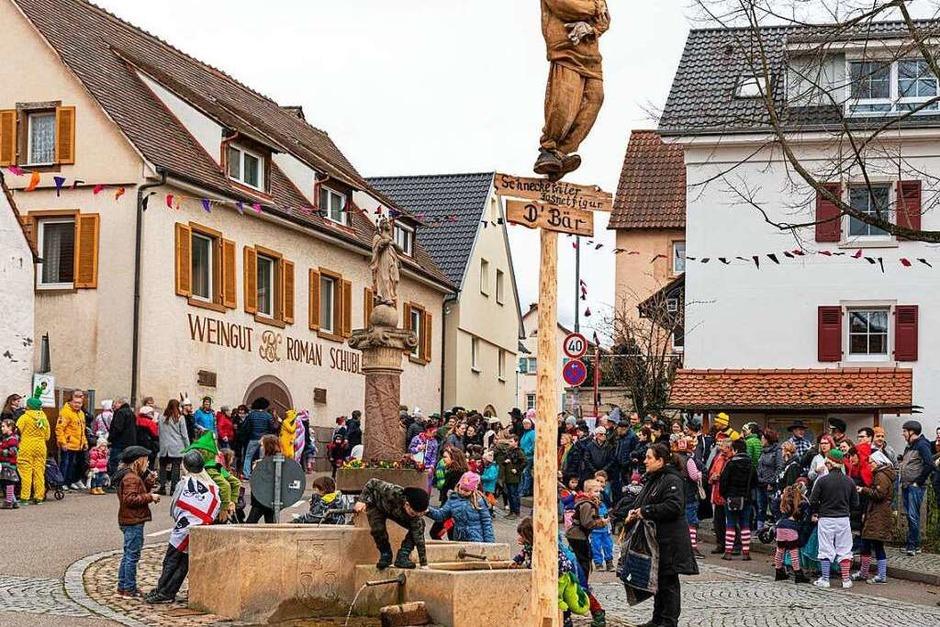 Impressionen vom Fasnachtsumzug in Pfaffenweiler (Foto: Hubert Gemmert)