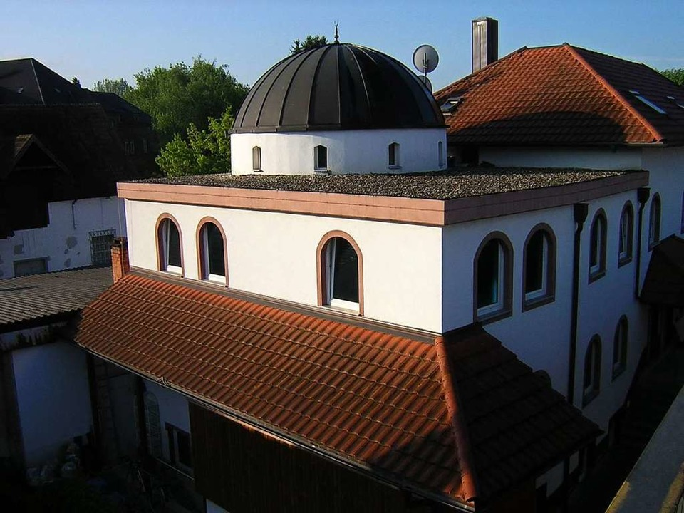 Die Emmendinger Moschee in der Schwarz...#8211; nun ermittelt der Staatsschutz.  | Foto: Gerhard Walser