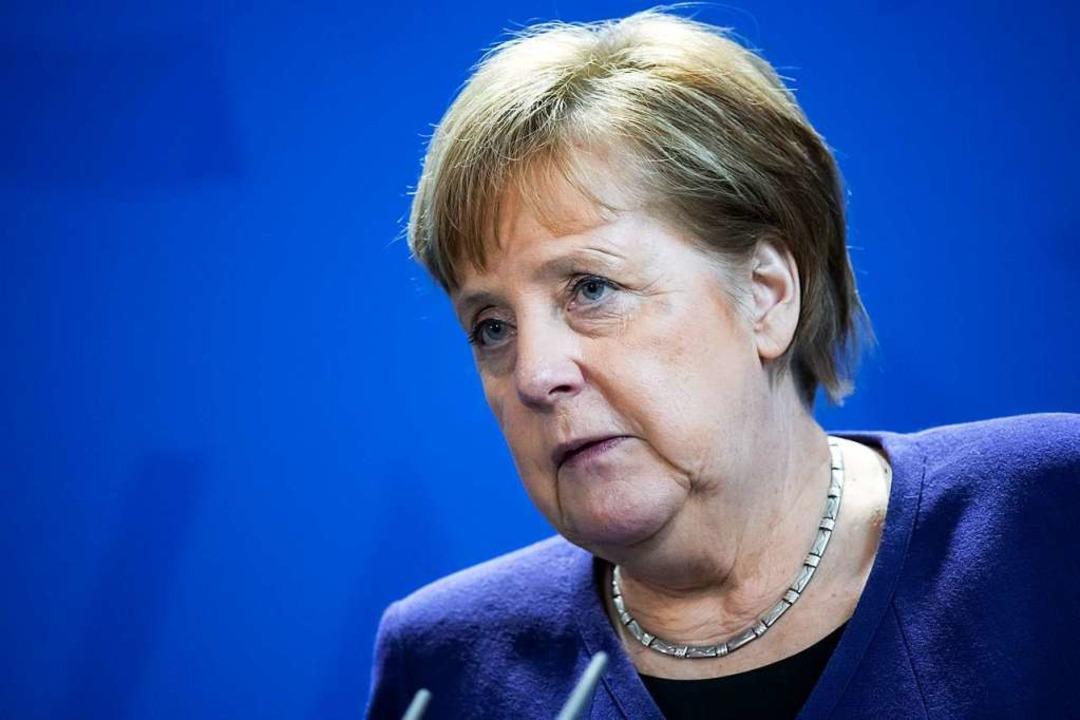 Angela Merkel war 18 Jahre lang die Parteivorsitzende der CDU.    Foto: Bernd von Jutrczenka (dpa)