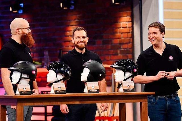 Drei Freiburger sind mit ihrer Erfindung bei der Show