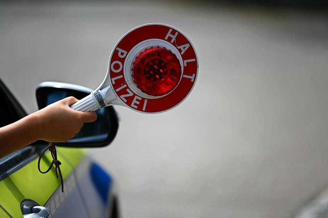 Die Polizei hat in Steinen einen Autof...r  Drogen konsumiert hat (Symbolbild).  | Foto: Jonas Hirt