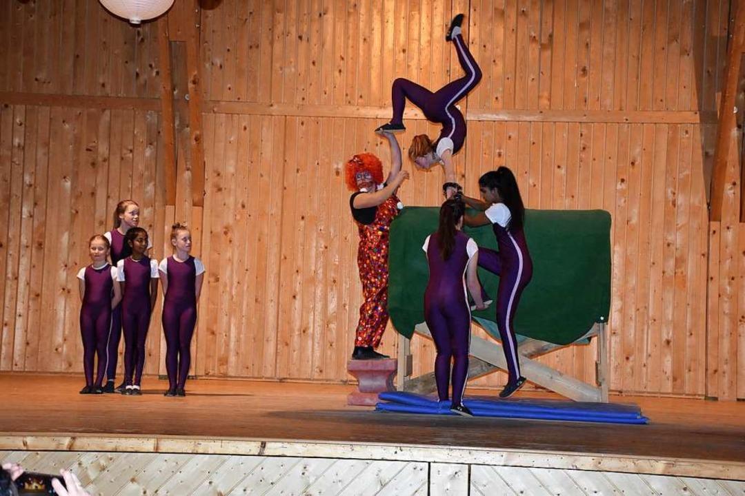 Die Vereinsfasnet der Betzitglunki St....öhlicher Abend mit Programm und Tanz.     Foto: Thomas Biniossek