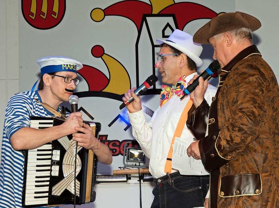 Die Gemeindepolitik ist eine einzige M...und Obervereinsmeier Johannes Schmidt.    Foto: Helmut Rothermel