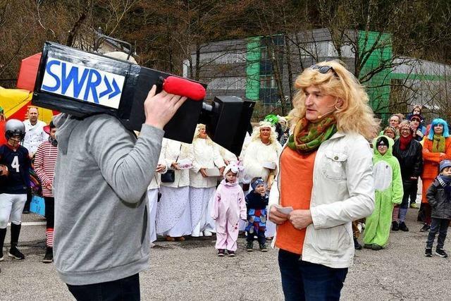 Witzige närrische Kundgebung in Obersimonswald