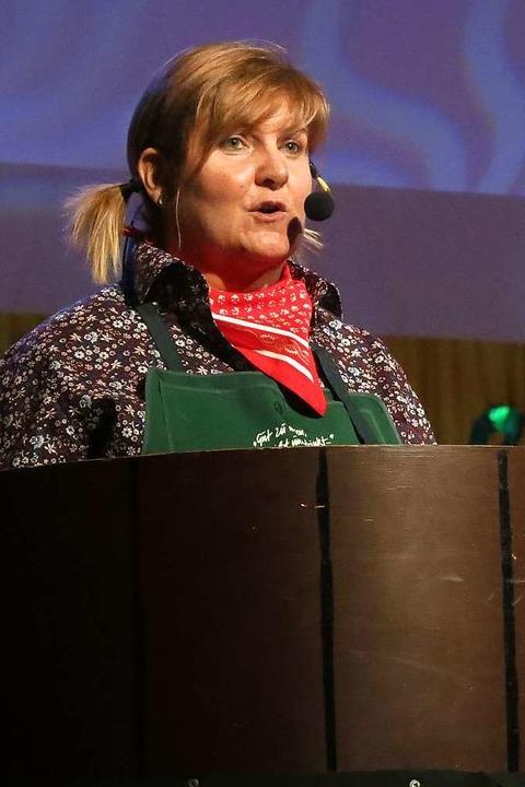 Manuela Krayer berichtete von den Unge...en bei  landwirtschaftlichen Einkäufen    Foto: Georg Voß
