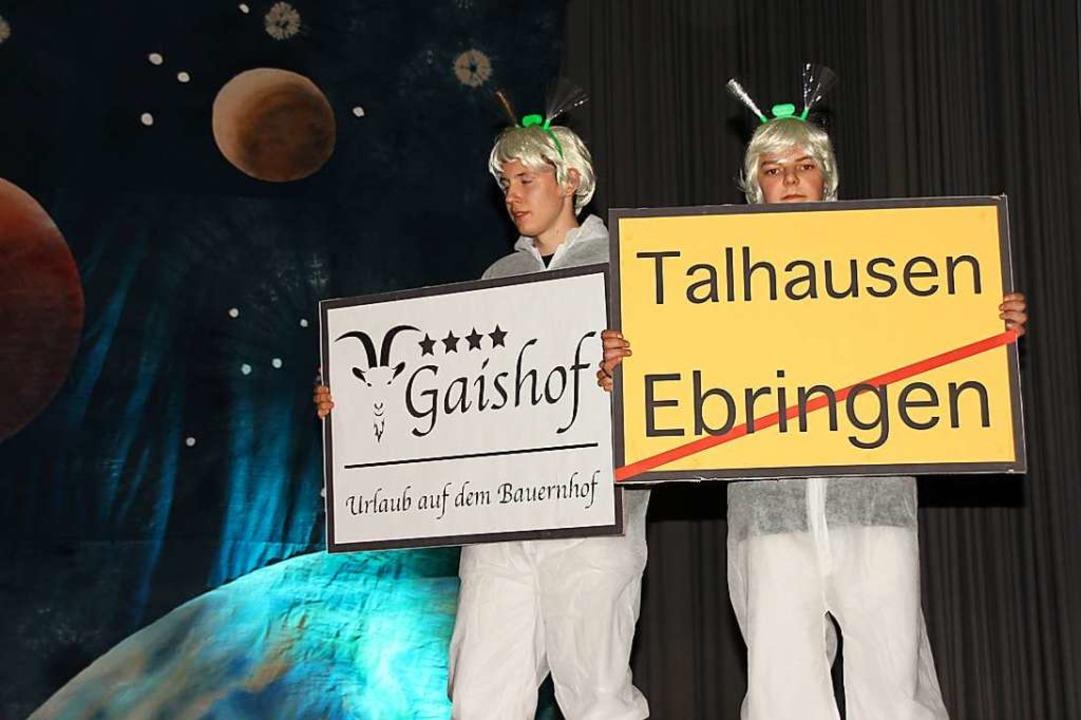 Der Ebringer Narrenobend bot  viel Unterhaltung.  | Foto: Mario Schöneberg