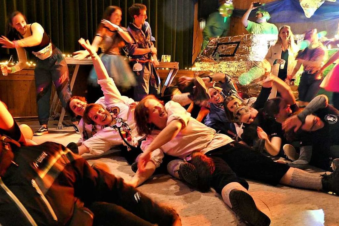 Impressionen vom Narrenabend in Horben    Foto: Nina Herrmann