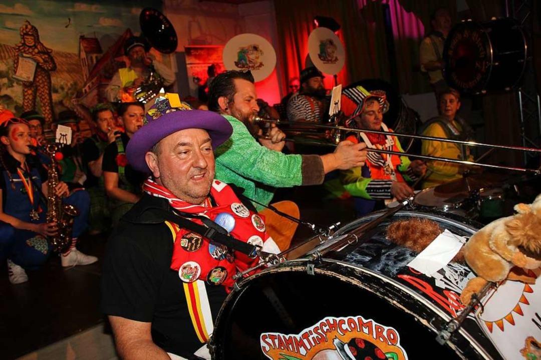Einzug der Musiker zum Finale des Zunftabends  | Foto: Mario Schöneberg