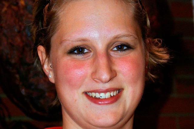 Alisa Kaiser aus Görwihl ist Innungssiegerin bei den Fleischfachverkäuferinnen
