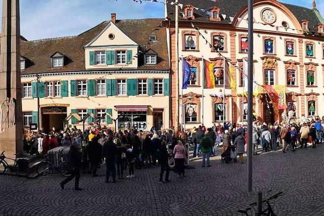 Rund 200 Teilnehmer bei der Mahnwache für die Opfer von Hanau