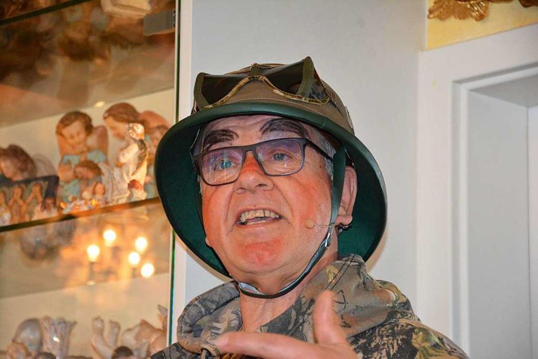 Hans-Peter Hartmann als Insektenforscher    Foto: Hannes Lauber